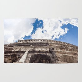 The Colosseum in Rome Rug
