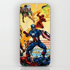super hero iPhone & iPod Skin