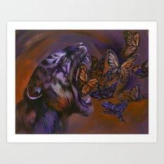 Gentle Roar Art Print