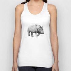 Hippo Unisex Tank Top