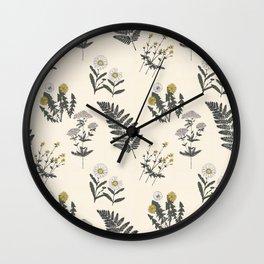 Botany .01 Wall Clock