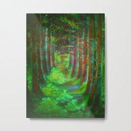 Parkway of dimness / Hämaruse allee Metal Print