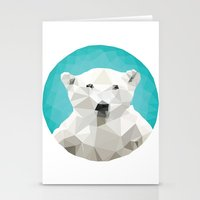 garden Stationery Cards featuring ♥ SAVE THE POLAR BEARS ♥ by ℳixed ℱeelings