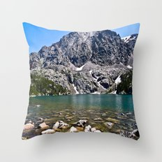Phantom Lake Throw Pillow
