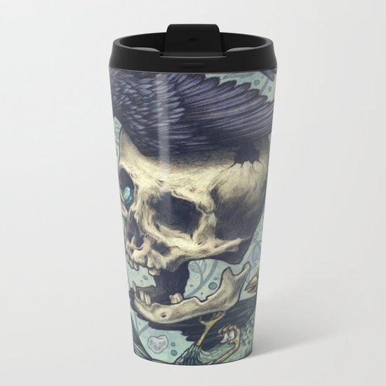 Bowerbirds Metal Travel Mug