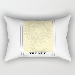 the sun tarot card Rectangular Pillow
