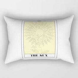 the sun tarot card Rectangular Pillow
