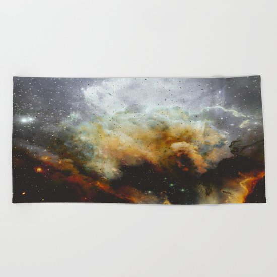 Mysteries of the Universe Beach Towel