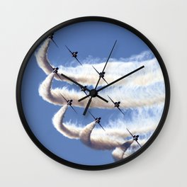 Diamond formation Wall Clock