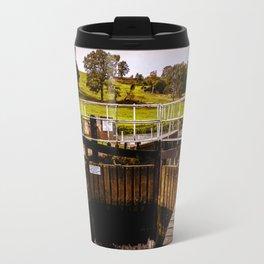 Fladbury Lock. Travel Mug