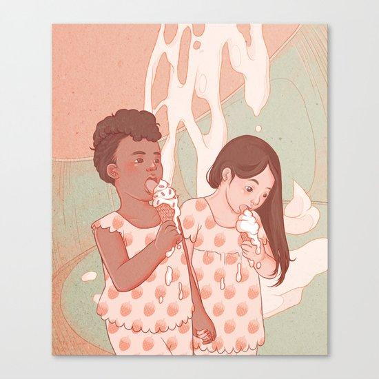 Lick Me Clean Canvas Print