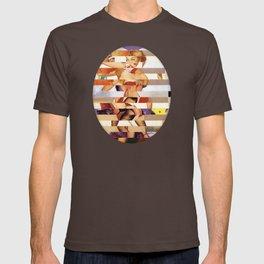 Glitch Pin-Up Redux: Amber T-shirt
