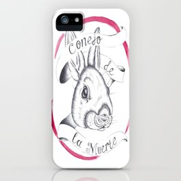 Rabbit of Death iPhone Case