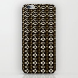 Meshed in Bronze iPhone Skin