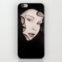 ying yang iPhone & iPod Skins featuring Ying Yang by Claire Azzopardi