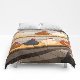 Sleeping with the enemy Comforters