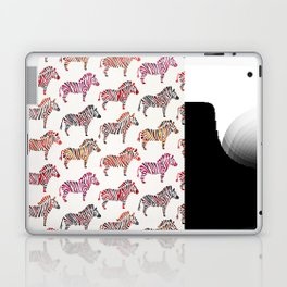 Zebras – Rainbow Palette Laptop & iPad Skin