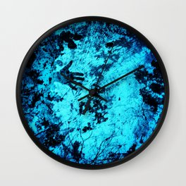 Cave Pool Painting Wall Clock
