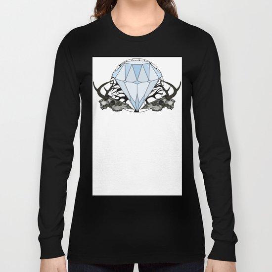 Diamond and skulls Long Sleeve T-shirt