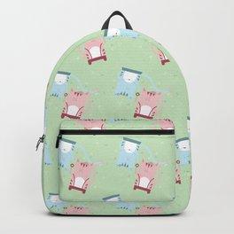 Traveling Tabbies: Flower Power Backpack