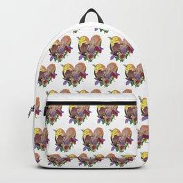 Tender Heart Bouquet Backpack