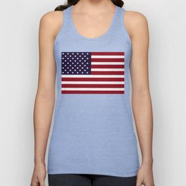 USA flag - Painterly impressionism Unisex Tank Top
