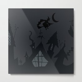 NIGHTMARE WITCH Metal Print