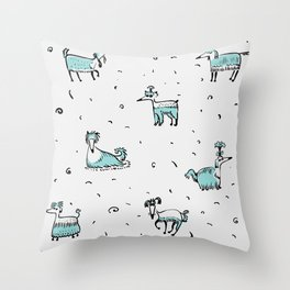 DOGs, DOGs Throw Pillow