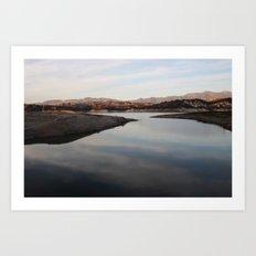 cachuma lake Art Print