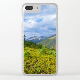 High Country Rainbow Clear iPhone Case