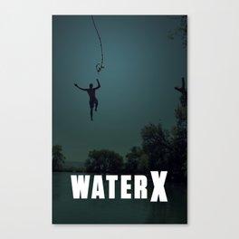 WaterX Canvas Print