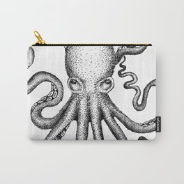 Stippled Octopus  Carry-All Pouch