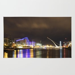 Dublin at night Rug