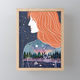Going within Framed Mini Art Print