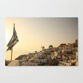 The Greek Feeling Canvas Print