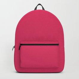 Cerise Pink Solid Color Backpack