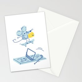Get The Cheese Stationery Cards