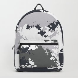 Camouflage snow 1 Backpack