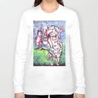 birdman Long Sleeve T-shirts featuring Birdman by 5wingerone