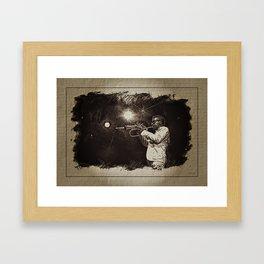 Roy Hargrove aux antipodes du jazzman intégriste Framed Art Print