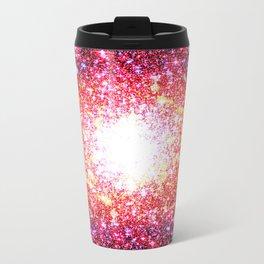 Colorful Confetti Astral Glitter Travel Mug