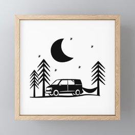 Out Among the Stars Framed Mini Art Print