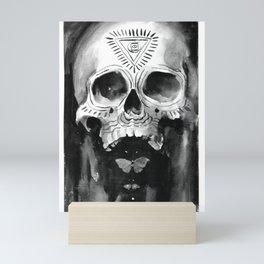 Shamanic Skull Mini Art Print