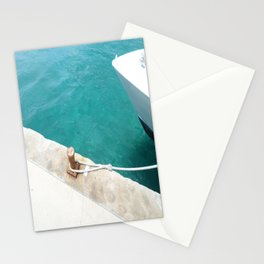 Boat Green Stationery Cards