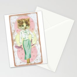 Space Kitten Stationery Cards