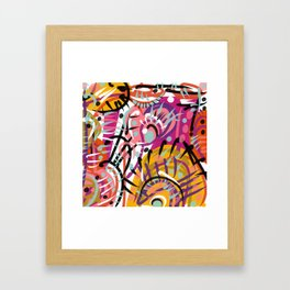 Simple complexity Framed Art Print