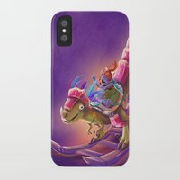 warcraft iPhone & iPod Cases featuring Raptor Swing - Warcraft by Heartmedia