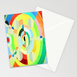 Robert Delaunay Discs Stationery Cards