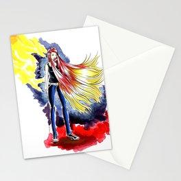 Cherry Blonde Heroine Stationery Cards