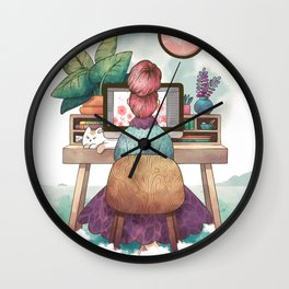 Workspace Wall Clock